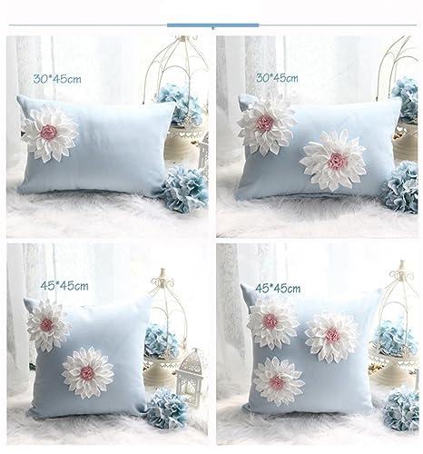 nunubee kissenbezug Punta, hecho a mano Flores Ins de estilo ...