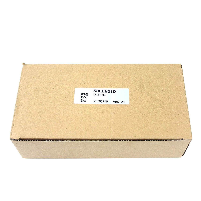 SINOCMP Shut Off Solenoid for Cummins 6CT 8.3 Komatsu PC300-7 PC360-7 Fuel Cut Off Solenoid Valve Parts 3930234 SA-4335-24 Stop Solenoid Valve 24V 3 Month Warranty