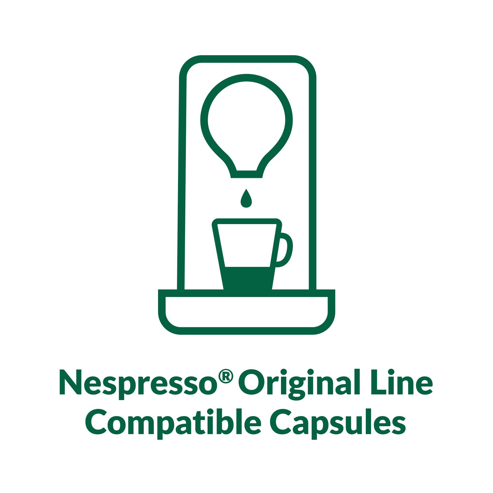 Café La Llave Espresso Capsules, Intensity 11 (80 Pods) Compatible with Nespresso OriginalLine Machines, Single Cup Coffee by Cafe La Llave (Image #5)