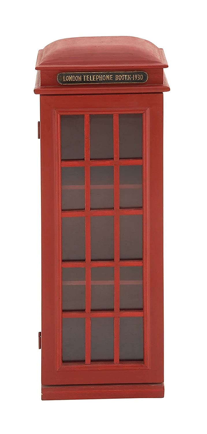 Fabulous Deco 79 3 Tier London Phone Booth Cd Holder Download Free Architecture Designs Scobabritishbridgeorg