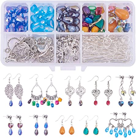 DIY Gemstone Connector Snake Earring Connector Chandelier Gold Findings Necklace