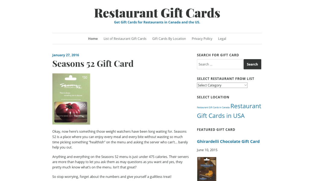 Amazon Restaurant Gift Cards Appstore For Android