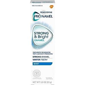 Pronamel Strong & Bright, Whitening Enamel Toothpaste, Mint, 3 ounce