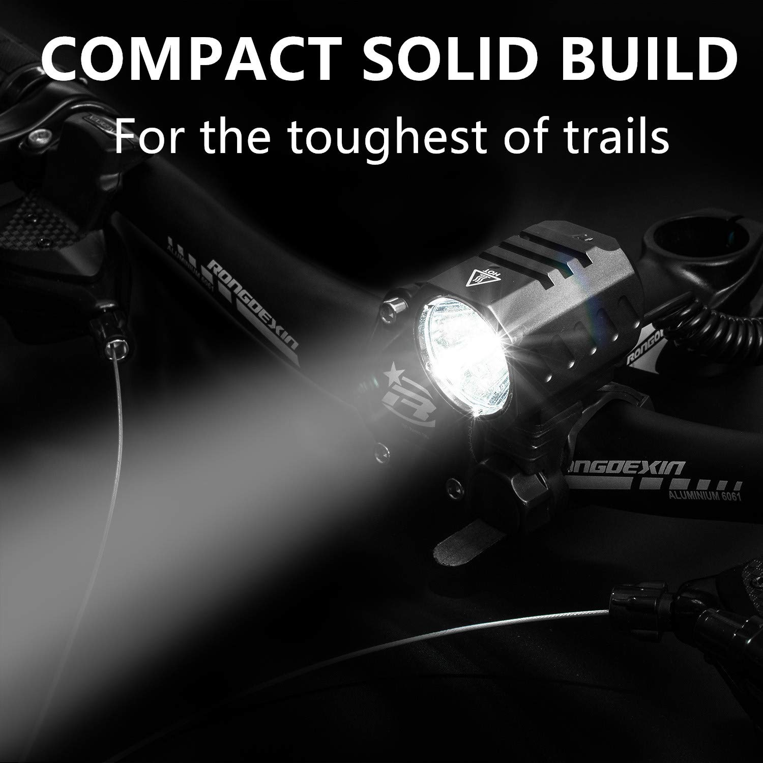 Bicycle Light Waterproof USB Rechargeable Front LED Bike Lights Cycling Lamp Tor