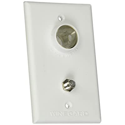Winegard Company TG-7341 Tv Outlet/Receptacle White: Automotive