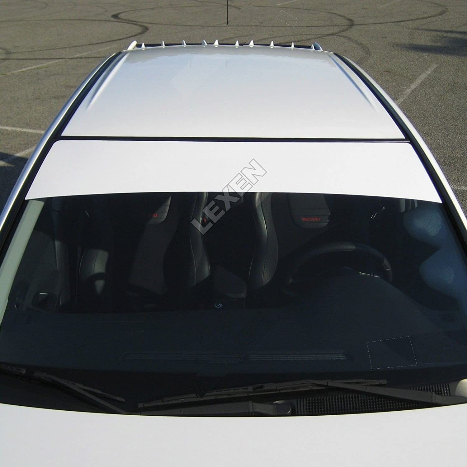 Seat WINDSHIELD CAR SCREEN SUNSTRIP sticker