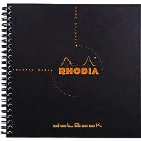 Caderno Rhodia Dotbook 21X21Cm Capa Preta Rhodia, Preto