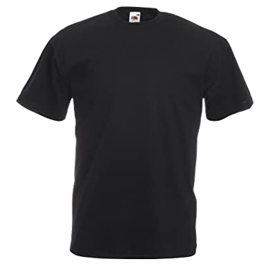 FRUIT OF THE LOOM MENS VALUEWEIGHT T-SHIRT (S 35