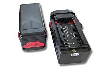 vhbw 2x Li-Ion batería 3000mAh (36V) para herramientas Hilti TE6A, TE 6A, TE7A por Hilti B36, B36V.