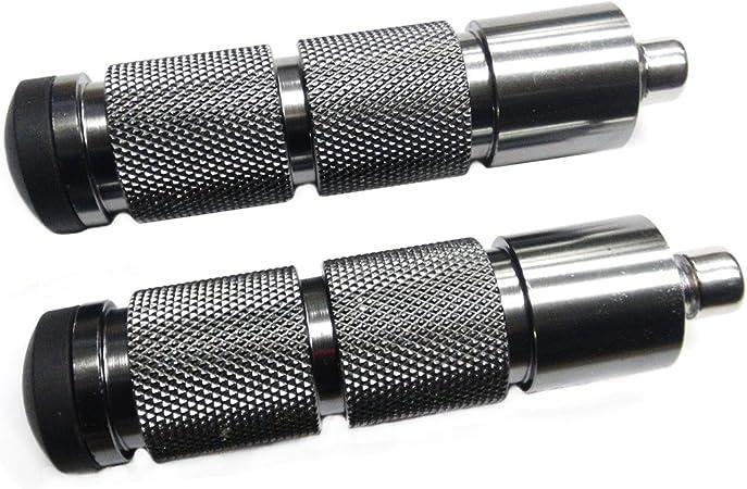 Color : Gold CNC en Aluminium Moto Repose-Pieds arri/ère Passager Pied Pegs P/édale for Kawasaki Z650 Z750 Z800 Z900 RS Z1000 SX ZRX1200