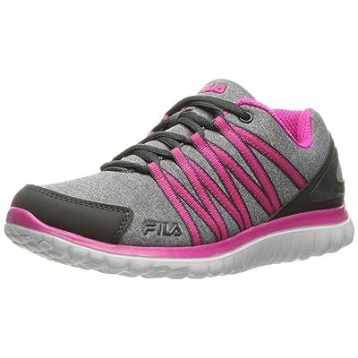 Fila Women's Memory Asymmetric Running Shoe   Road Running