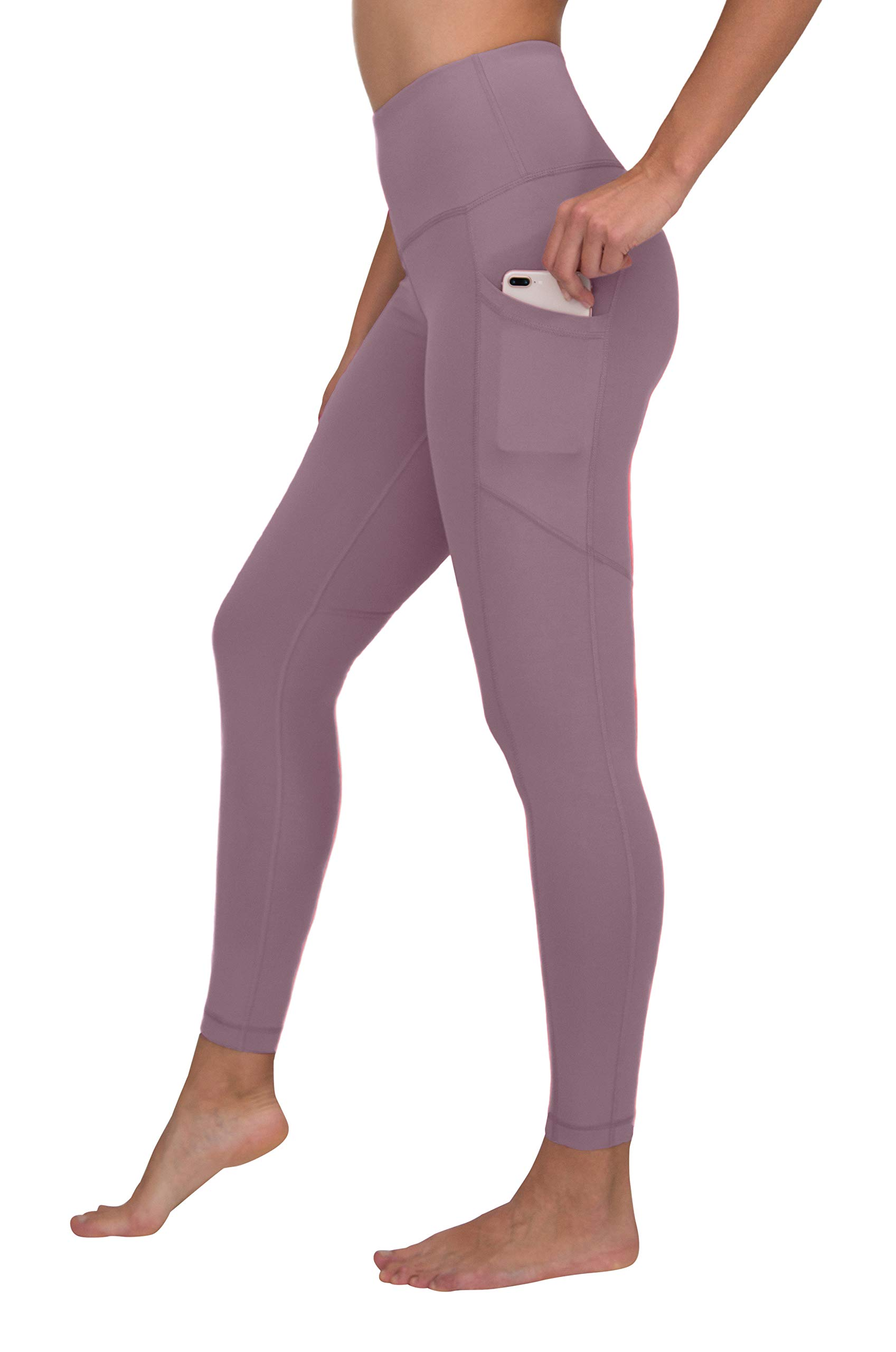 90 Degree By Reflex Women's Power Flex Yoga Pants - Arctic Dusk - XL by 90 Degree By Reflex