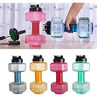 JOUDOO Dumbbell Shaped Sports Water Bottle 85.4 oz (2500ml) YLB001