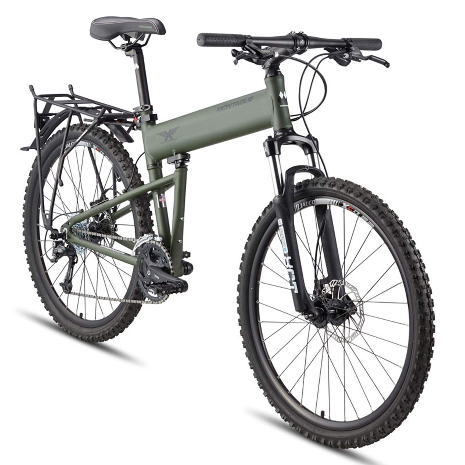 9e37a2d89ab Montague Paratrooper 24 Speed Folding Mountain Bike | Team Immortal |  Forever Fit | Fitness Products