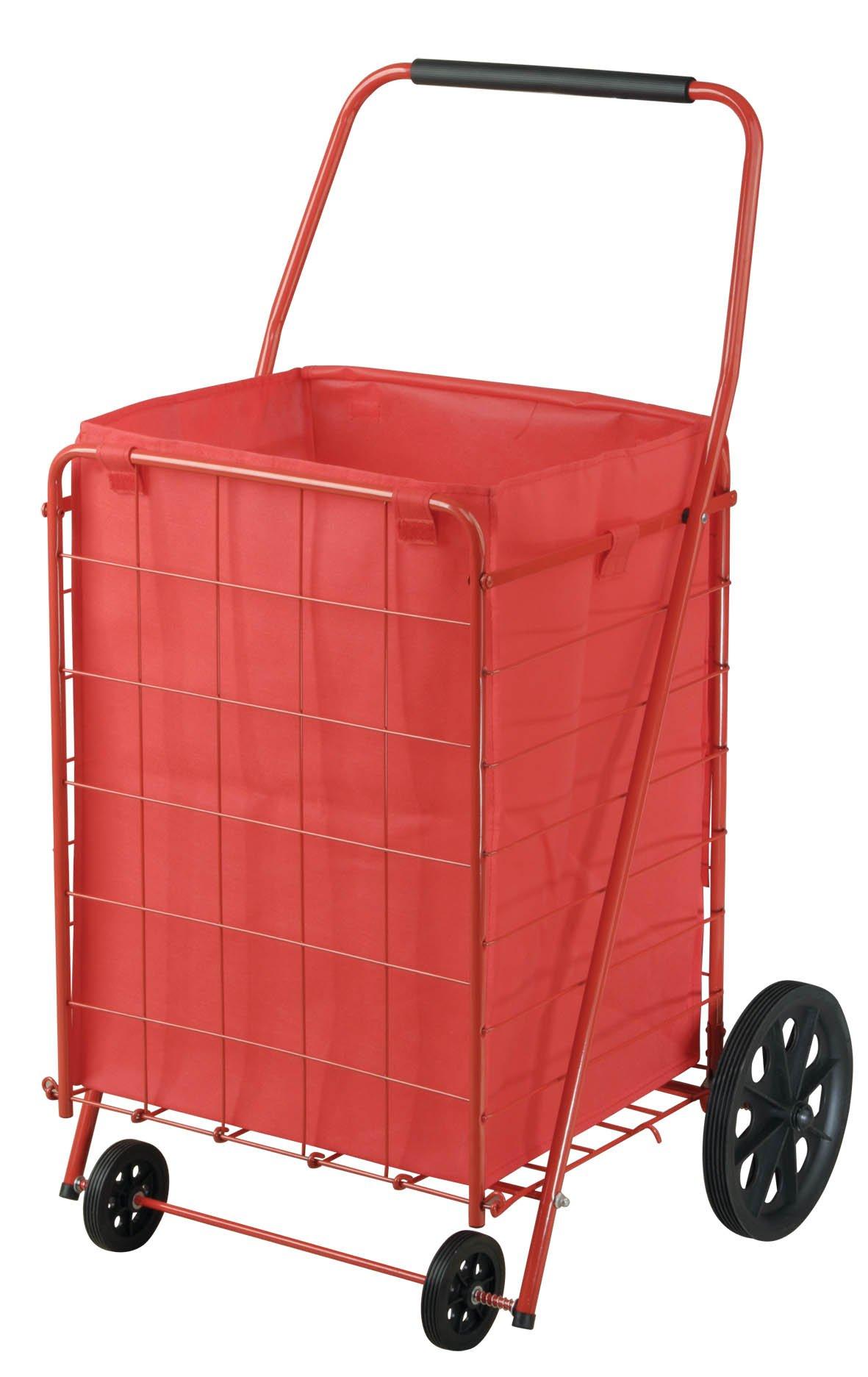 Sandusky FSC4021 Folding Shopping Cart, 110 lbs Capacity