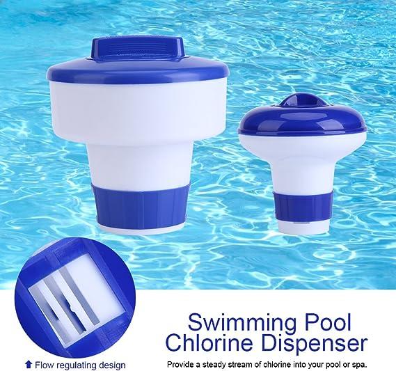 Dispensador cloro flotante, Dispensador químico, Flotador de cloro ...