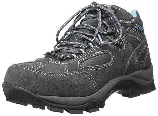 8419 Suede Hiker Grey/Blue Work Boot