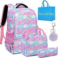 Mochila Escolar Niñas Mochilas Infantiles Niñas Mochilas Glitter Sets de Bolsas Escolares Mochilas Chica,Girls Backpack…