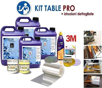 Kit Epoxy Table Pro para crear La Mesa de madera y Resina Epoxi ...