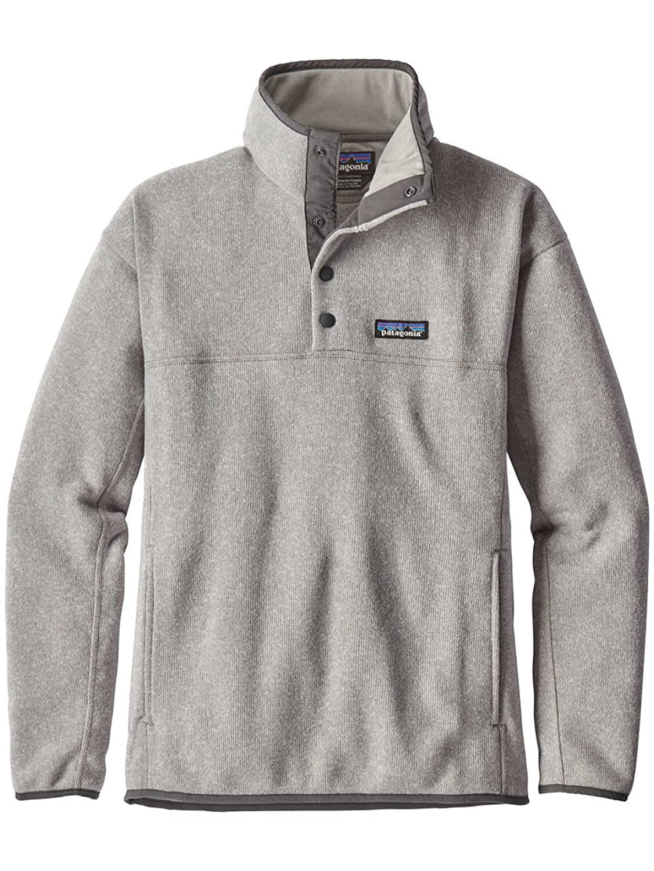 555c698f52e7d3 Patagonia Women s Lightweight Better Sweater Marsupial Fleece Pullover Grey