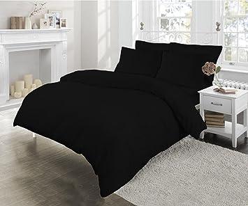 Bettwäsche Set Mit Faden Und Kissenbezügen Bügelfrei Perkal
