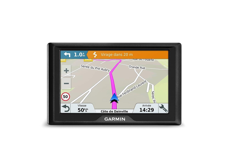 Navegador GPS con mapas de por vida y tr/áfico v/ía m/óvil pantalla de 6, mapa oeste Europa Garmin Drive 61 Western EU LMT-S