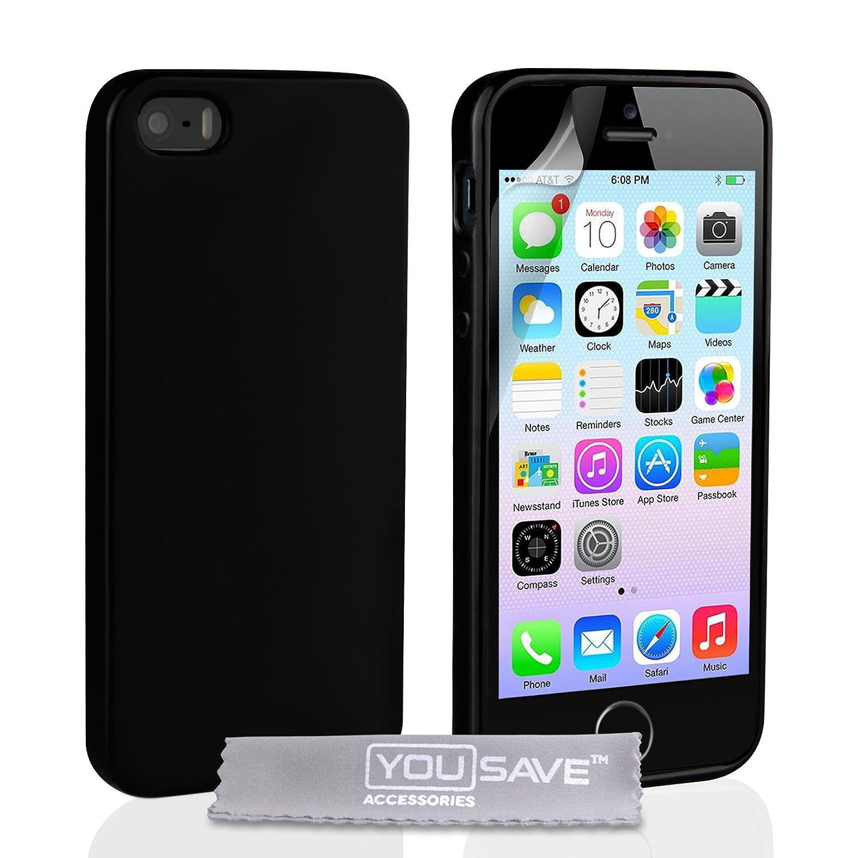 custodia iphone 5 nera