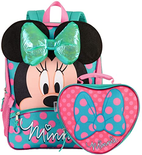 aa745bd84e2 Image Unavailable. Image not available for. Color  Disney Minnie Mouse  16 quot  Backpack ...