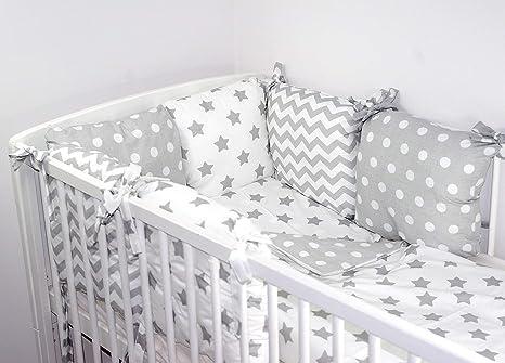 4 b Bedding Babys Comfort Cushion bumper made of 6 pillows