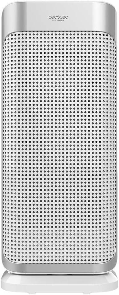 Cecotec Calefactor Baño Cerámico Ready Warm 6250 Ceramic Sky Style. 3 Modos, Termostato Regulable, Sistema Antivuelco, Protección sobrecalentamiento, 2000 W