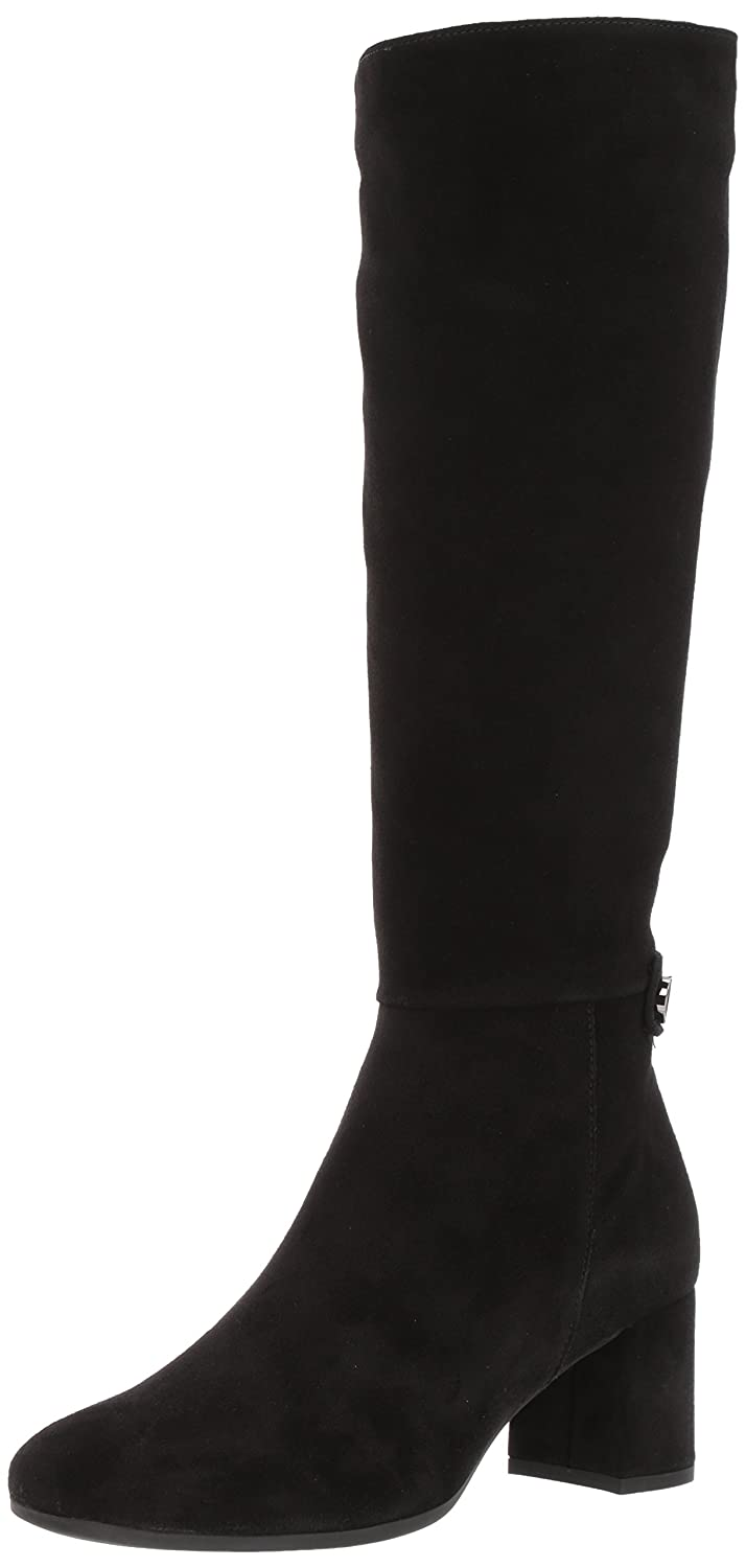 La Canadienne Women's Jenna Fashion Boot B01NCJCFAS 7.5 B(M) US|Black Suede