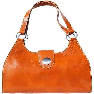 Florence Double À Cuir De Épaule Leather Et Lagrand6418 En Vache Vrai Tamponè Main Lanière Sac Avec Market rtQdsh