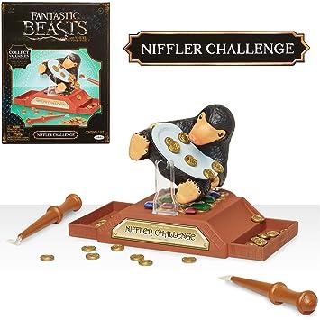 HARRY POTTER 39895-11L Wizarding World Niffler Challenge Spiel, schwarz, Hand/A