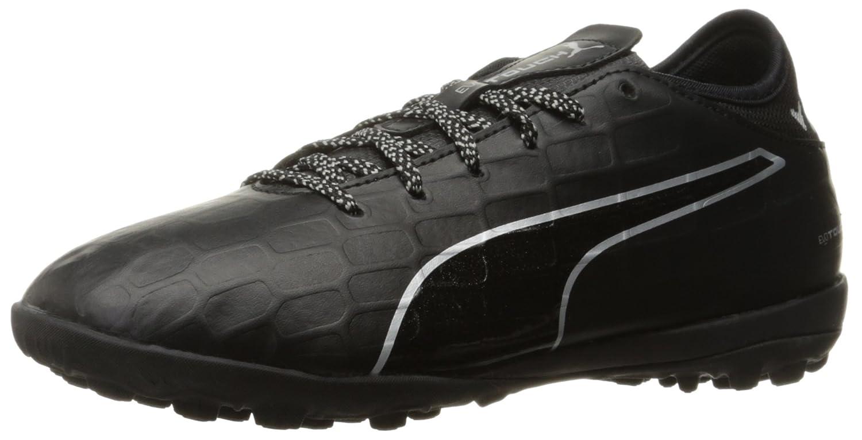 PUMA Men's Evotouch 3 TT Soccer Schuhe, schwarz schwarz Silver, 5.5 M US