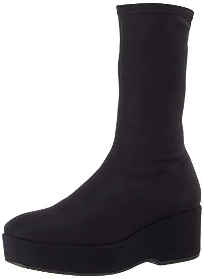 Vagabond Women's Grace Stretch Synthetic Pull on Boot Dark Grey-5 Size 5 UCdOow5WX