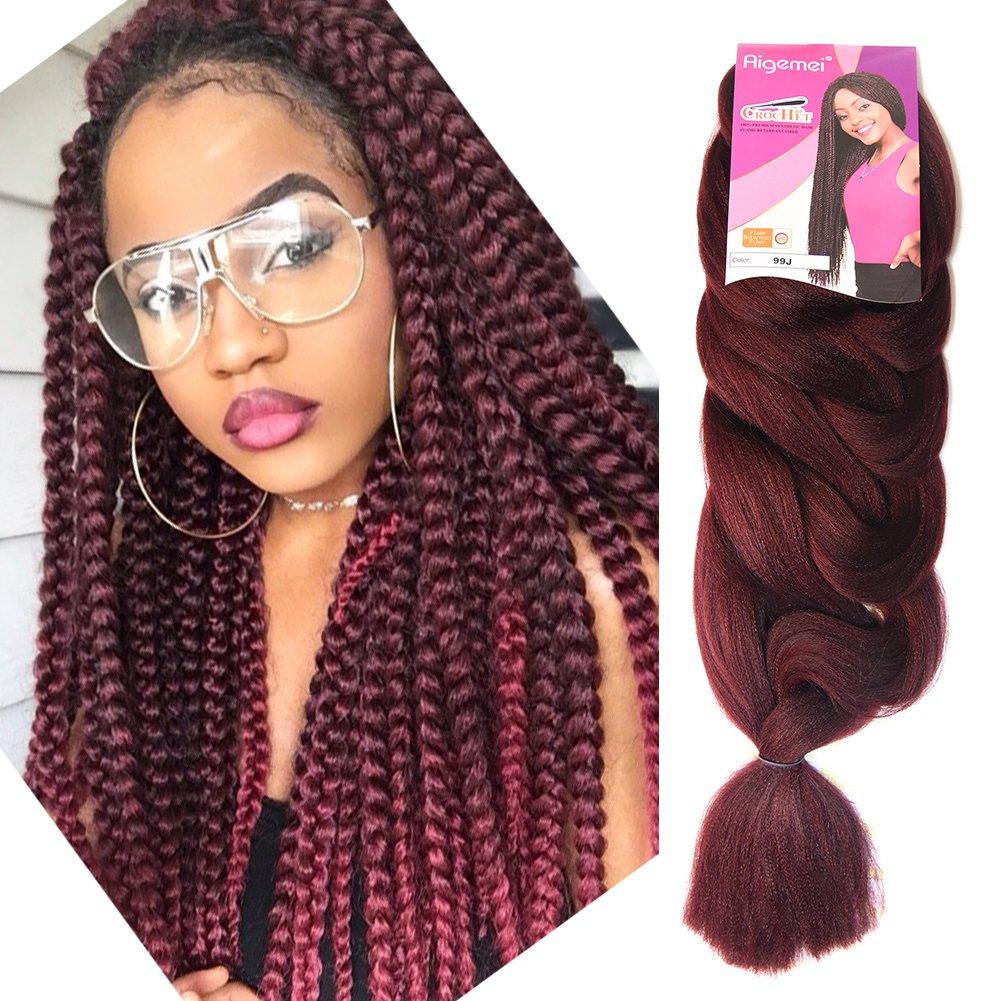 Amazon Top Hair Extension Braiding 100 Kanekalon Straight