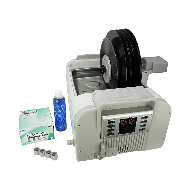 iSonic P4875II+MVR5 Motorized Ultrasonic Vinyl Record Cleaner, 110V (5-records)