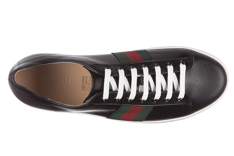 Gucci chaussures baskets sneakers femme en cuir quentin plateau noir EU 39  452312 D3VN0 1060  Amazon.fr  Chaussures et Sacs aecf907f1c0