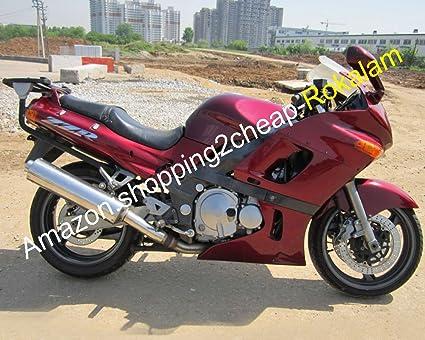 Hot Sales,Popular Rojo ZZR400 Kit de carenado para Kawasaki ...