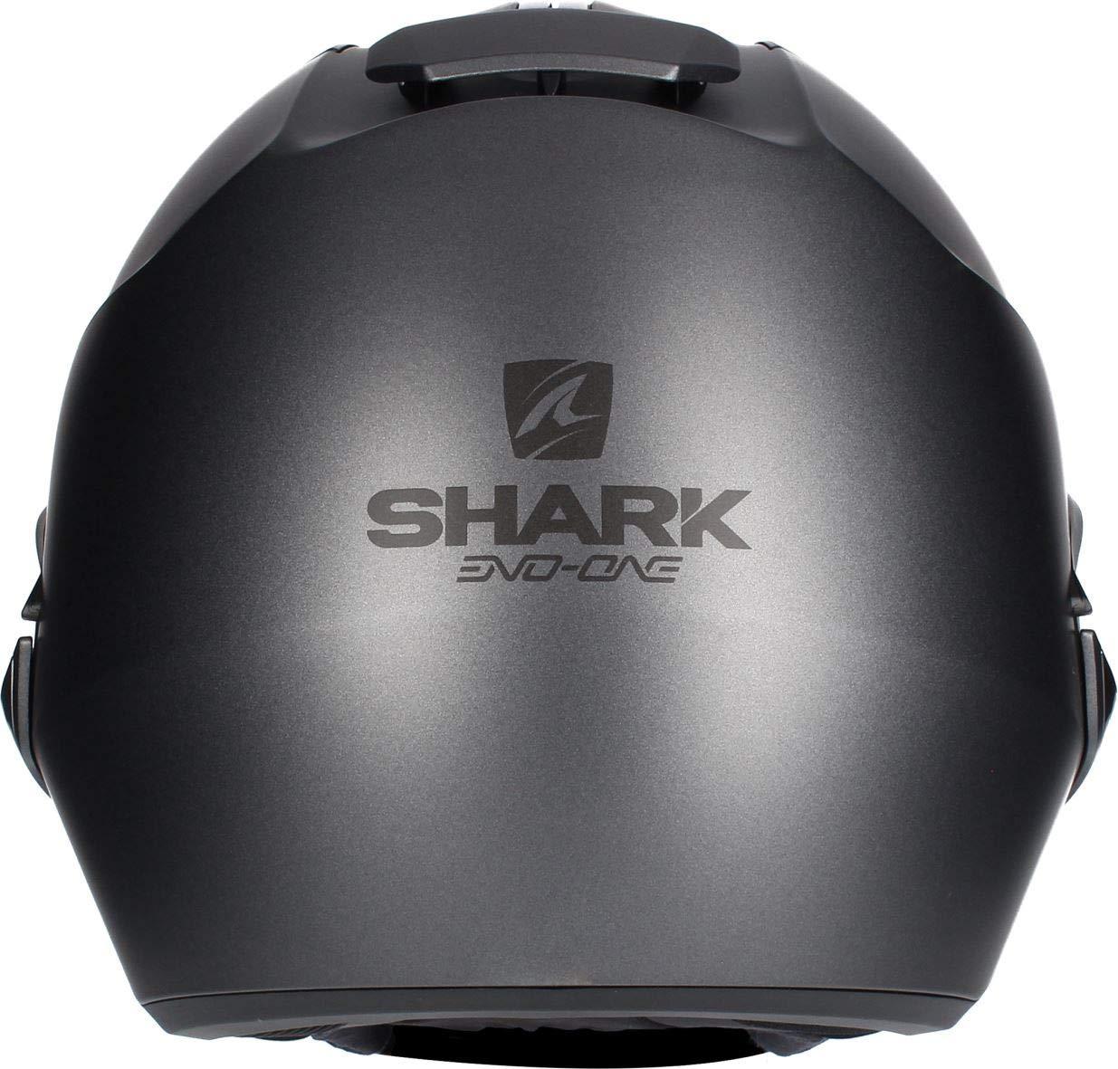 casco da motociclista Hark Evo-One 2 di colore nero taglia M Shark opaco