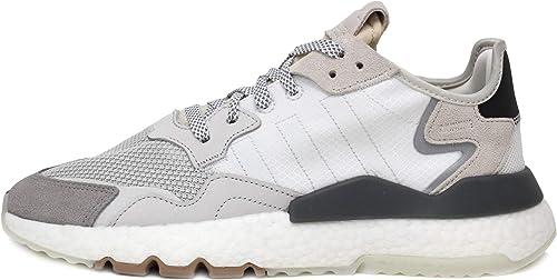 adidas Nite Jogger Mens in White