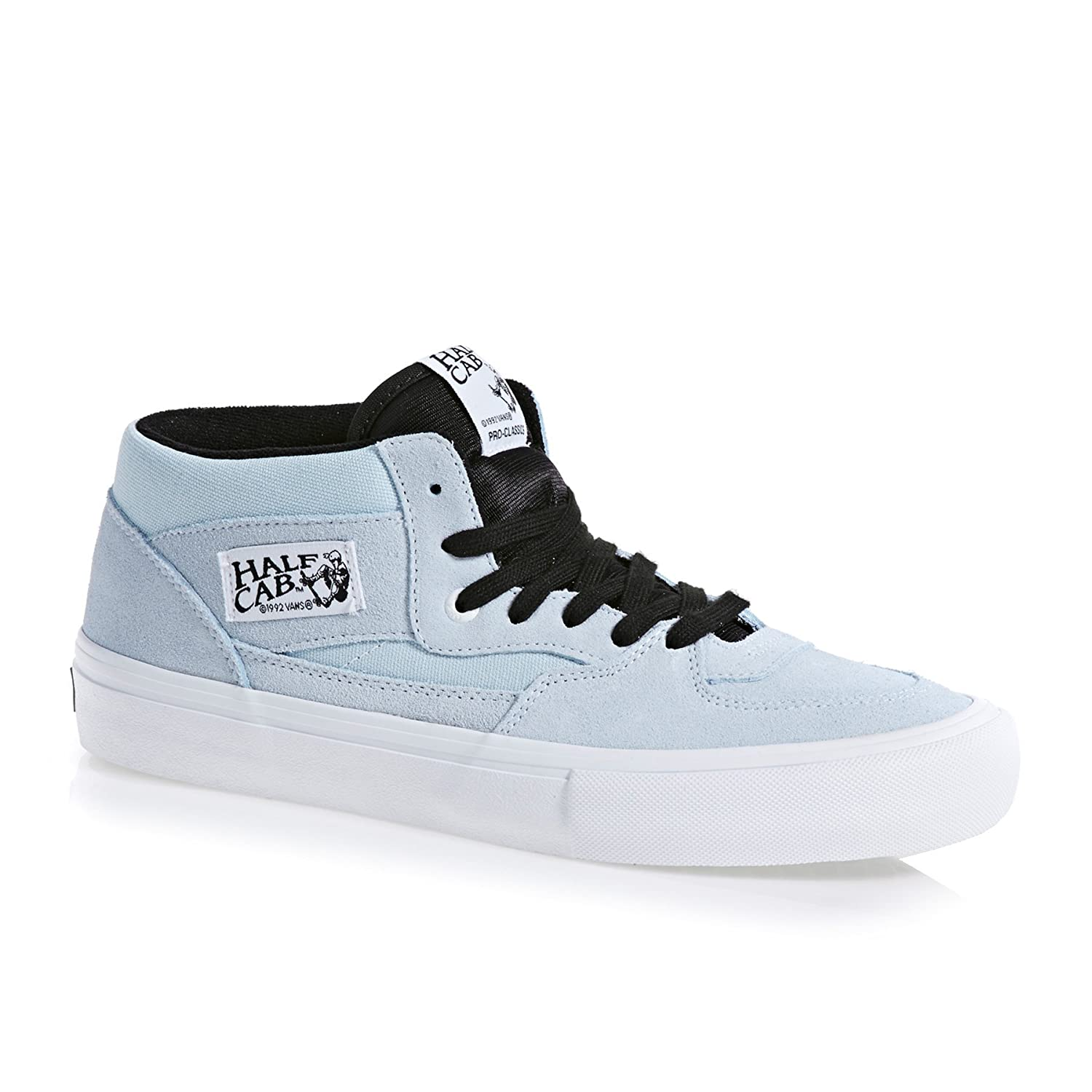 Baby Blue White Skate Shoes Baby Blue