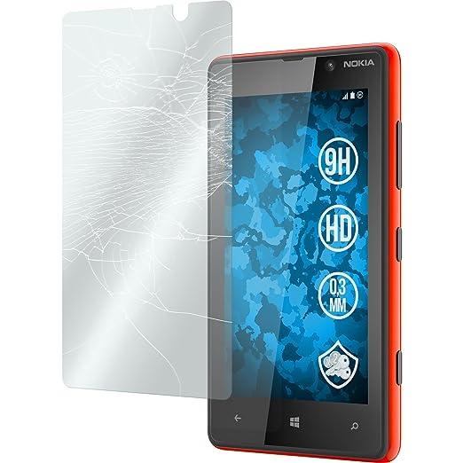 48 opinioni per 2 x Nokia Lumia 820 Pellicola Protettiva Vetro Temperato chiaro- PhoneNatic