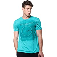 Wear Your Opinion WYO Men's Gym Motivational Workout Complete Sweat Activated Gym T-Shirt