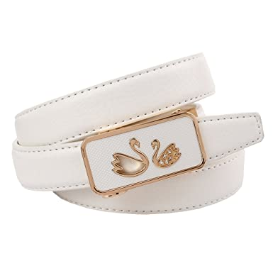 8355b3744979 Anthoni Crown - Ceinture - Femme blanc Weiß Medium - blanc - Medium