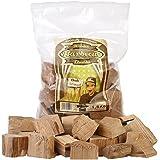 Axtschlag Räucherklötze, Wood Smoking Chunks, Eiche – Oak, Holz, 1,5 kg