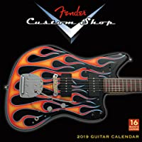 2019 Fender Custom Shop Guitar 16-Month Wall Calendar: by Sellers Publishing, 12x12 (CA-0386)