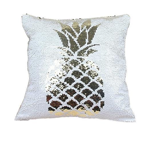 Amazon.com: Posicionamiento bordado fundas de almohada ...