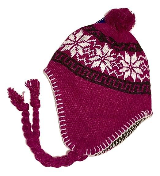854e25819df Amazon.com  Peruvian-Style Knit Cozy Cap