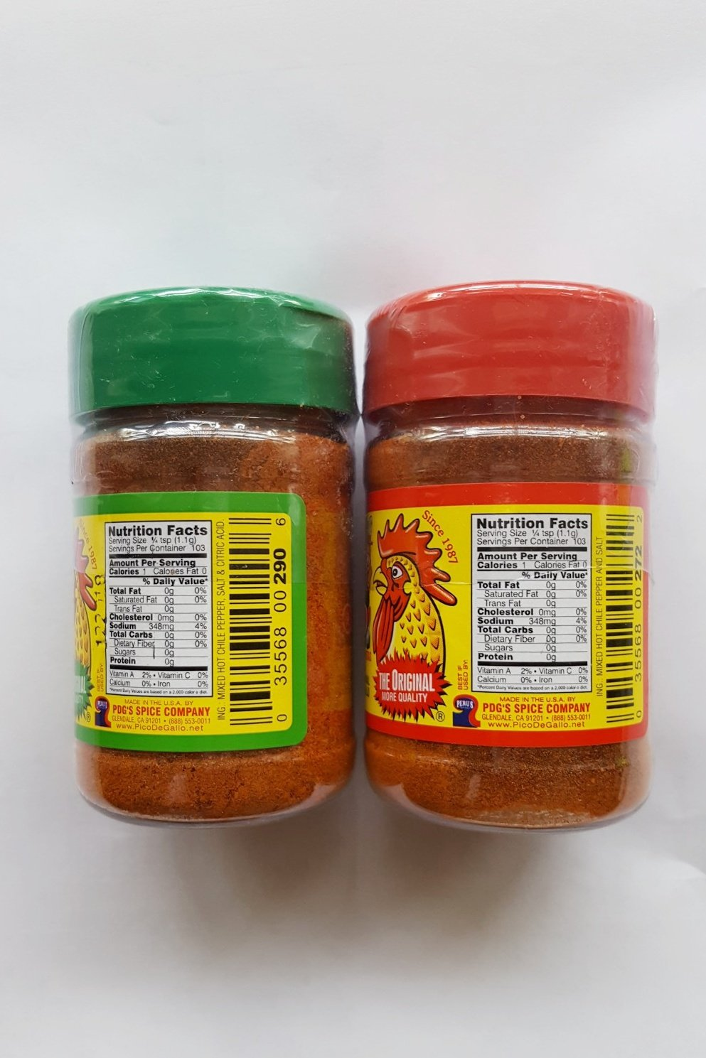 Pico De Gallo's Hot Chile and Salt & Pico Limon Seasoning Set , 4oz (Pack of 2) by Pico De Gallo's (Image #2)